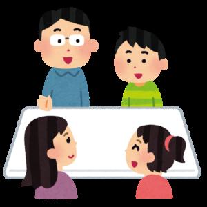 家族コミュニケーションの絵