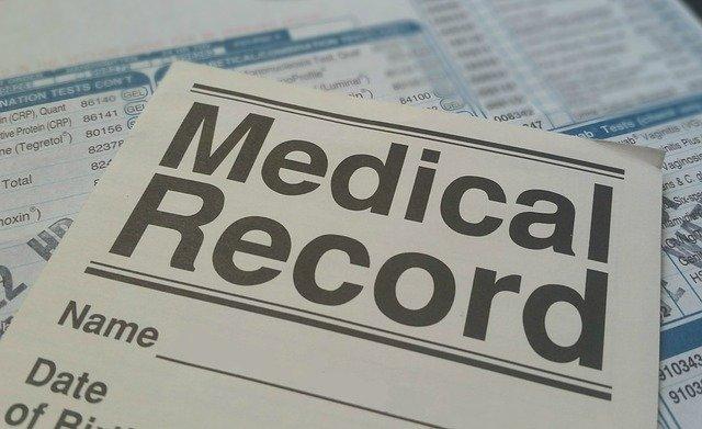 医療の書類